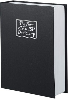 Caja secreta con forma de libro