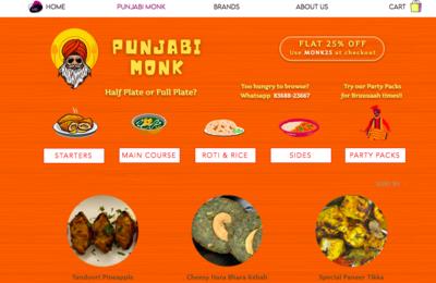 Punjabi Monk
