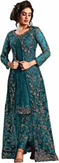 anarkali net and santoon suits for women | anarkali suit for women readymade | gown for women semi-stitched | gown for women 2021 | anarkali salwar suit | gown in Clothing & Accessories