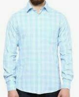 Blue Checkered Full Sleeves
