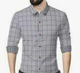 Brown Checkered Shirt