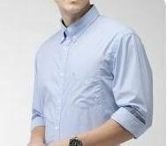 Blue Stripes Full Sleeves Shirt