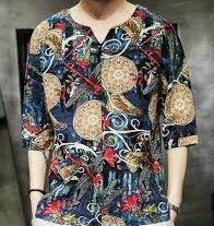Printed Casual Shirt, Full Sleeves