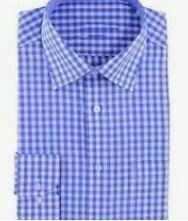 Blue Checkered Formal Shirt, Full Sleeves