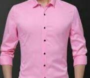 Cotton Formal Shirt, Pink