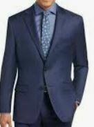 Single Breasted Blazer, Navy Blue