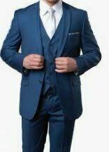 Three Piece Suit, Blue