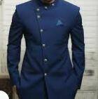 Bandhagala Suit, Navy Blue
