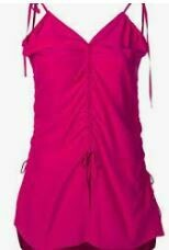 Sleeve Less Formal Top, Pink