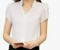 Plain White Formal Shirt