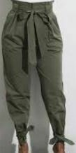 Designer Casual Trouser, Green