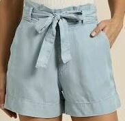 Casual Blue Shorts