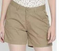 Cotton Shorts, Brown