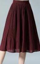 Full Skirt, Burgandi