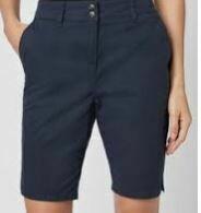 Cotton Shorts, Dark Blue
