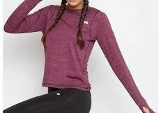 Full Sleeves Quick Dry Sports T-Shirt, Pink
