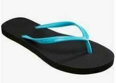 Flats (Flip-Flops), Black