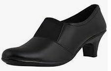 Black Formal Wedge Shoes