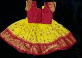 Red-Yellow Traditional Dress