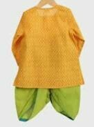 Green-Yellow Kurta Set