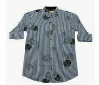 Printed Kid's Shirt, Grey