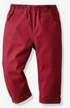 Cotton Trouser, Red