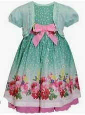 Cotton Half Sleeves Frock