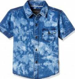 Printed Shirt, Blue-White
