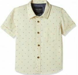 Cotton Floral Printed Shirt, Half Sleeves