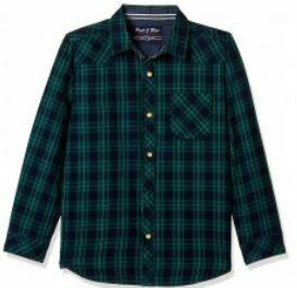 Green-Blue Checkered Shirt-Unisex
