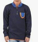 Boys Full Sleeves Stripes T-Shirt