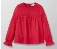Girls Full Sleeves Cotton Top