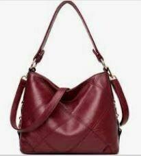 Maroon Hand cum Shoulder Bag