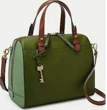Ladies Hand Bag, Olive Green