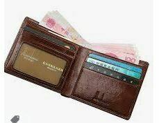 Gents Leather Money Purse
