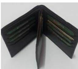 Gent's Multi Folder Genuine Leather Purse