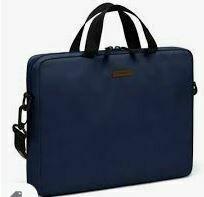 Unisex - Laptop Bag with Shoulder/Crossover Straps, Blue