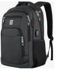 Laptop Back Pack, Black