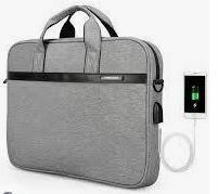 Laptop Bag with USB-Charging Port, Unisex