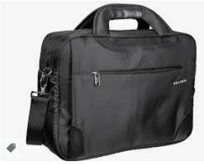 Multi Folder Laptop Bag, Black