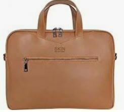 Laptop Bag with Storage Compartment, Brown