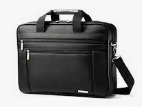 Multi Compartment Laptop Bag, Black