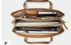 Multi Folder Laptop Bag