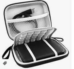 Portable SSD Hard Case, Black