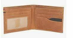 Genuine Leather Wallet, Multi Folder