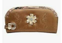Designer Leather Clutch