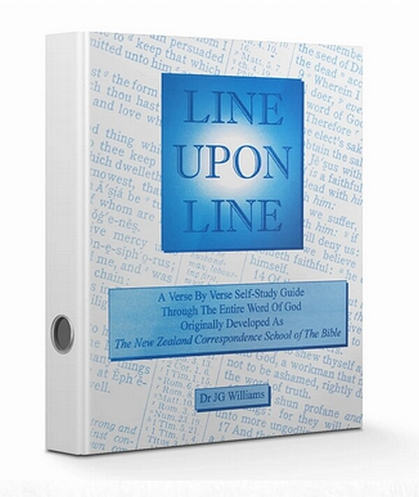 Line Upon Line - English eBook 1 Chronicles