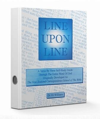 Line Upon Line - English eBook Isaiah
