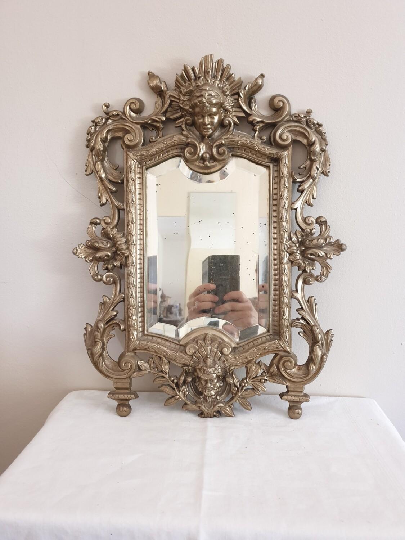 Miroir en bronze