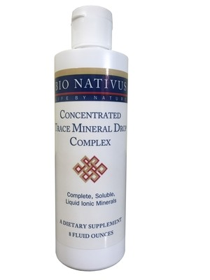 Concentrated Trace Mineral Drop Complex